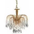 Люстра ARTE LAMP Modern and crystal (Waterfall) A5175LM-3GO
