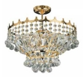 Люстра ARTE LAMP Modern and crystal (Versailles) A9500PL-5GO