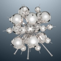 Бра ARTE LAMP Modern and crystal (Molecule) A8312LT-6CC